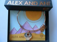 Alex and Ani Falcon Bangle Bracelet, Shiny Rose NWTBC