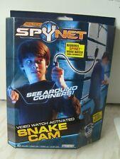 Serpiente real Tech Spynet Reloj de vídeo Cam activado Accesorio de James Bond Nuevo
