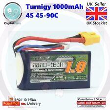 Turnigy Nano-Tech 1000mAh 4S 45-90C XT60 Lipo Battery - 1300 1500 1800 Racing