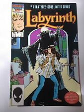 Labyrinth #1 1986 Marvel The Movie Comic David Bowie Rare Collectable Great Cond