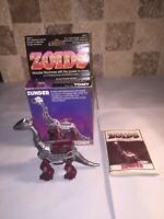 Tomy Zoids Zunder Boxed And Instructions