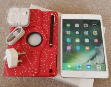 Apple iPad mini 2 16GB, Wi-Fi, 7.9in Retina display- White.New Accessories+Extra