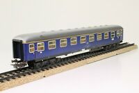 Märklin 4051 H0 D-Zug Wagen Personenwagen Abteilwagen 1.Klasse blau Blech
