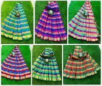 Designer Bollywood Kanchipuram Indian Ethnic Cotton Silk Saree Traditional MF