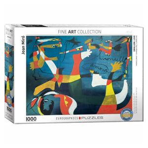 Eurographics Joan Miro Swallow Love 1000 Piece Jigsaw Puzzle NEW