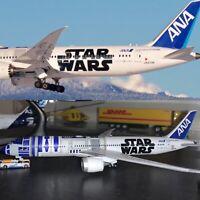 ANA 787-9 Star Wars  R2-D2 Reg: JA873A 1:400 Scale  From JAPAN  - PLASTIC MODEL