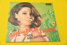 "7"" SOLO COPERTINA SENZA DISCO NEIL MACARTHUR SHE'S ..ORIG ITALY '60 NM !!!!!!!!!"