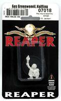 Reaper 07018 Gus Greenweevil Halfling (Dungeon Dwellers) Henchman Adventurer NIB