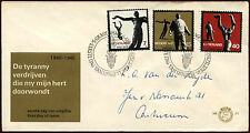 Netherlands 1965 Resistance Commemoration FDC First Day Cover #C27204