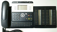 Alcatel Lucent IP Touch 4028 Octophon Open ip140 EE sytemtelefon + 40 keysmodule