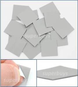 20pcs 25mm x 25mm Silicone Based Thermal Tape Pad Conductive Adhesive Heatsink