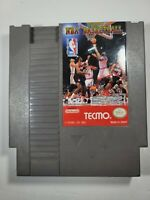 TECMO NBA BASKETBALL Nintendo NES Game Cartridge TESTED - CLEAN