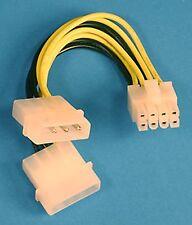 1 * 8 PIN CPU SCHEDA MADRE EPS A DOPPIA 4 Pin Molex Cavo di alimentazione 12 volt MOBO PIOMBO