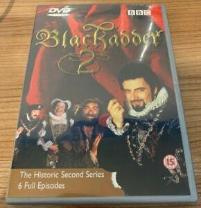 Blackadder The Complete Second Series DVD (2000) Rowan Atkinson Region 2 UK