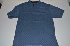 PING COLLECTION GOLF BLUE PLAID POLO SHIRT MENS SIZE LARGE L
