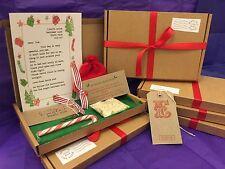 Santa Christmas Eve Box Personalised A5 Size Letter Magic Key & Reindeer Food