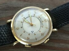 1950's JAEGER LECOULTRE MEMOVOX ALARM 10K GOLD FILLED Cal. P489/1 JUST SERVICED
