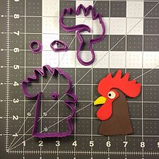 Rooster Head 100 Cookie Cutter Set