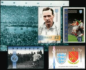 BOLTON WANDERERS FA CUP Winners Wembley 1922-1923 Football Stamps (David Jack)