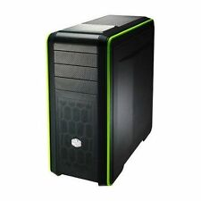 Case verde microATX per prodotti informatici USB