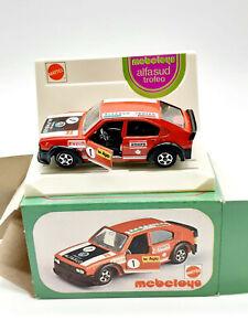 auto Mebetoys Alfasud trofeo scala 1/43 art.A97 scatola originale