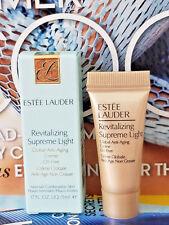 Estee Lauder Revitalizing Supreme Light Global Anti-Aging Creme Oil Free .17 oz