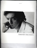 Timothy Omundson - 8x10 Headshot Photo w/ Resume - Psych - Mission Impossible