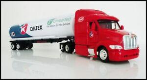 CALTEX PETERBILT 387 CAB PETROL TANKER OIL TANKER FUEL TANKERS 1/43 TRUCKS