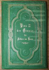 Papa Pio IX. biografici GUARNIZIONE i 1877 di Filippo Maria Freiherr di BRICCO