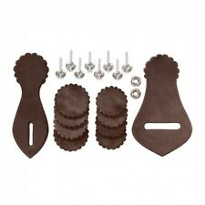DARK OIL Leather Western Saddle Repait Kit With Hardware NEW Horse Tack