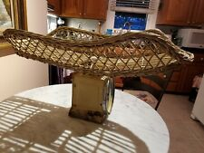Vintage Baby Scale With Wicker Basket Paragon Sells Best