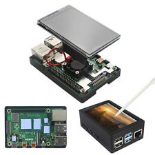 3.5 inch TFT Touch Screen with Case Fan Radiator Kit for Raspberry Pi 4B