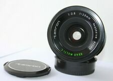 Tamron 28mm f2.8 BBAR Wide Angle Prime Manual Lens Canon FD Adapter AE-1 A-1