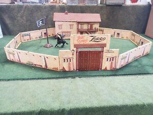 Marx Zorro Playset Fort