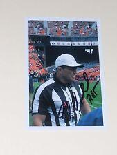 NFL Referee ED HOCHULI Signed 4x6 Photo NFL AUTOGRAPH 1