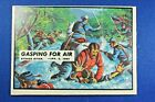 """1962 Topps Civil War News - #35 """"Gasping For Air"""" - Ex-ExMt Condition"""