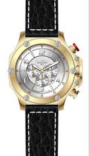 Luxury Chronograph Cavadini Watch Extravagant Gold Plated Boomerang CV-1081
