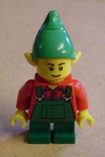 LEGO 2 minifigura Figura Boy Girl Maschio Natale Babbo Natale Donna Cappello Avvento