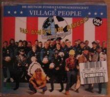 Village People Far away in America (1994; 2 tracks, & Deutsche Fußba.. [Maxi-CD]