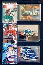 Top NASCAR Legends Racing Cards Lot of 3 - Gordon, Earnhardt Jr., Bernstein