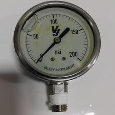 Valley Instrument 0-200Psi Pressure Gauge