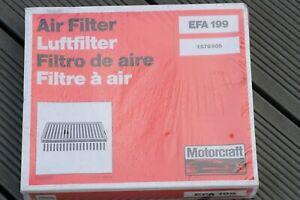 Ford Motorcraft Sierra Granada Air Filter EFA199 1579605  1985-1994
