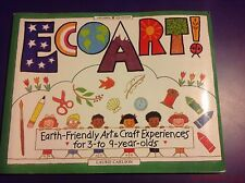 EcoArt Earth-Friendly Art & Craft Experiences for 3-9 Year Olds. (A13)