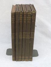 William Rotch Ware THE GEORGIAN PERIOD  6 VOLUMES U.P.C. Book Company 1923 HC