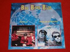 BAD BOYS BLUE - TOTALLY / TO BLUE HORIZONS TOP RARE OOP CD