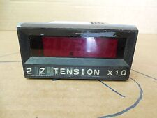 Simpson Digital Panel Meter Model 2842 200mV 200 Volt 120 VAC 200mA 4-20mA