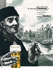 PUBLICITE ADVERTISING 014   1962   KRONENBOURG  bière  IK STA OP  par  LIMA