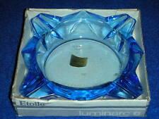 ancien CENDRIER etoile 11,5cm LUMINARC vintage ASHTRAY verrerie d'Arques FRANCE