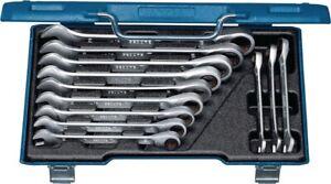 Maulringratschenschlüsselsatz 7 R-012 12-teilig Schlüsselweiten 8-19 mm