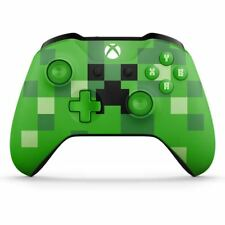Microsoft Xbox WL300056 Wireless Controller Minecraft Creeper & Call of Duty WII